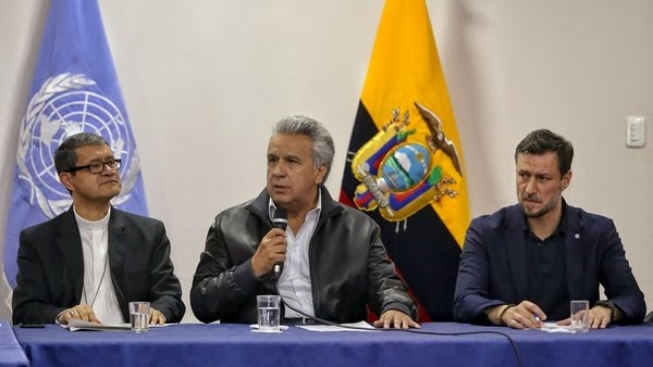 Lenín Moreno, presidente de Ecuador (AFP)