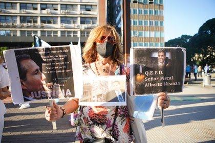 Se renovó el reclamo de justicia por la muerte de Nisman (foto Franco Fafasuli)