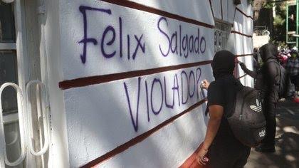 Las protestas comenzaron tras su confirmación de candidatura (Foto: Cuartoscuro)