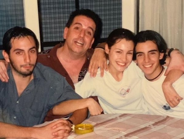 Leandro, Michael, Carolina y Guillermo Ardohain (Instagram)