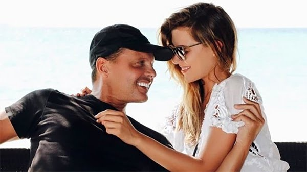 Luis Miguel y su hija Michelle Salas (Instagram)