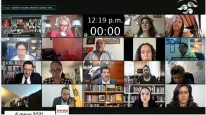 """(Foto: captura de pantalla de Youtube """"Cámara de Diputados"""")."""