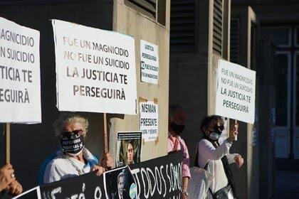 Se cumplieron seis años de la muerte de Nisman (foto Franco Fafasuli)
