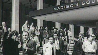Sandro, en su debut en el Madison Square Garden de Nueva York