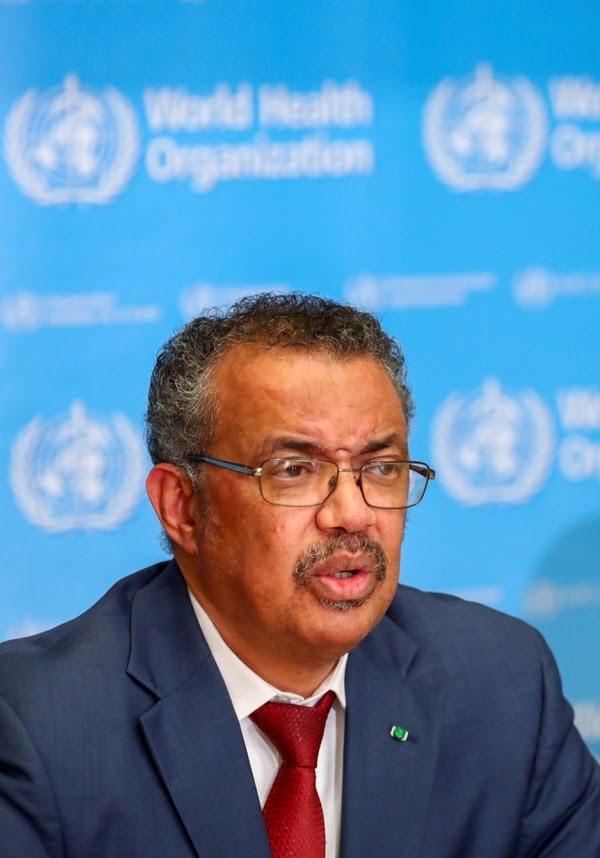 Tedros Adhanom Ghebreyesus, director general de la Organización Mundial de la Salud (REUTERS/Denis Balibouse/File Photo)