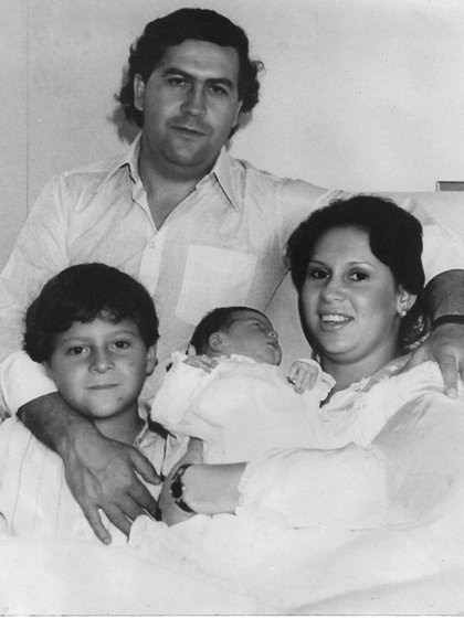 La familia Escobar. Fotografía cortesía de la familia Escobar.