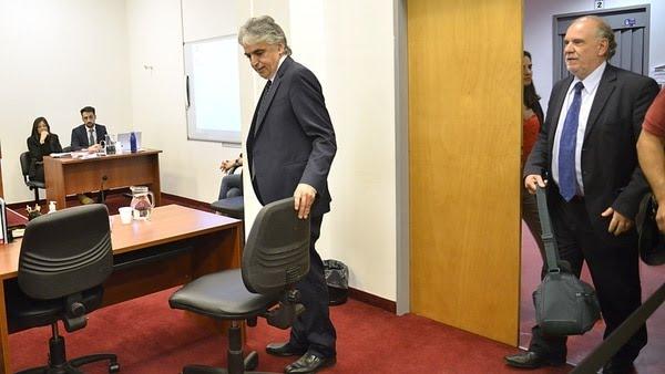 Russo llegó acompañado por su abogado, el doctor Ricardo Izquierdo