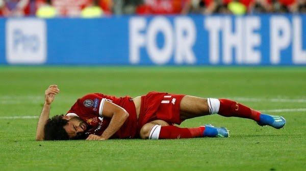 La lesión de Mohamed Salahapagó al Liverpool de Kloppen la final de la Champions League (Reuters)